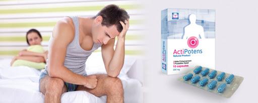 Comment la composition de Actipotens? Effets d'application. Y a-t-il des effets secondaires?