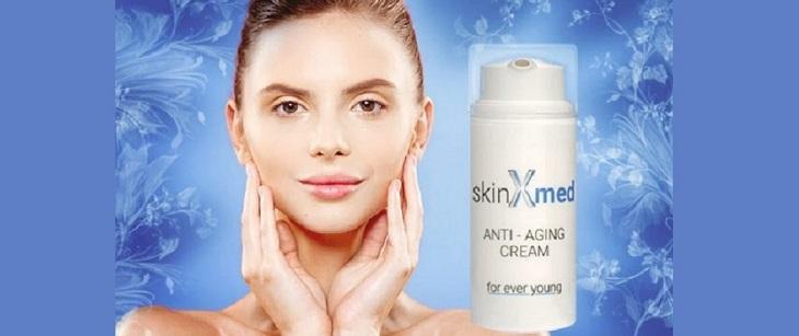 SkinXmed - ingrédients naturels. Effets d'application