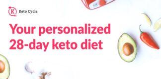 Keto Cycle Application - application pour effectuer un régime cétogène