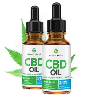 Natures Method CBD Oil - effet de bien-être sur tout le corps!