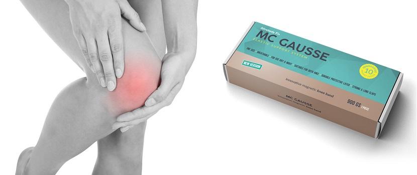MC Gausse - ingrédients naturels. Effets d'application