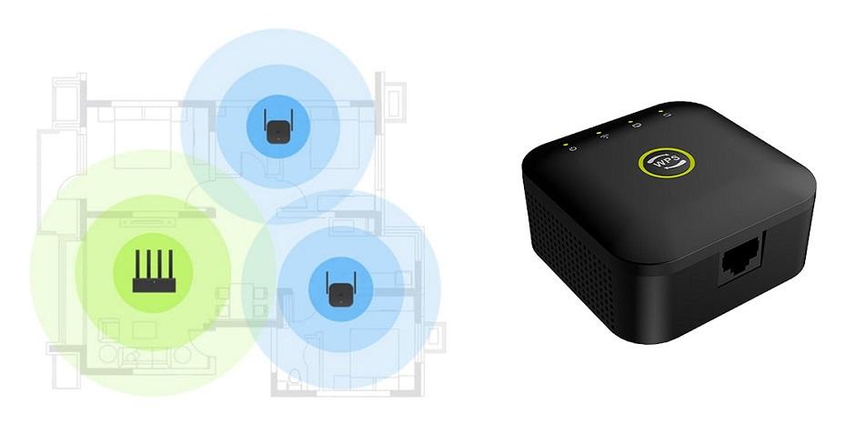 TechPro WiFi Booster - air sain dans la maison